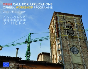 OPEN CALL FOR APPLICATIONS – OPHERA WORKSHOP PROGRAMME