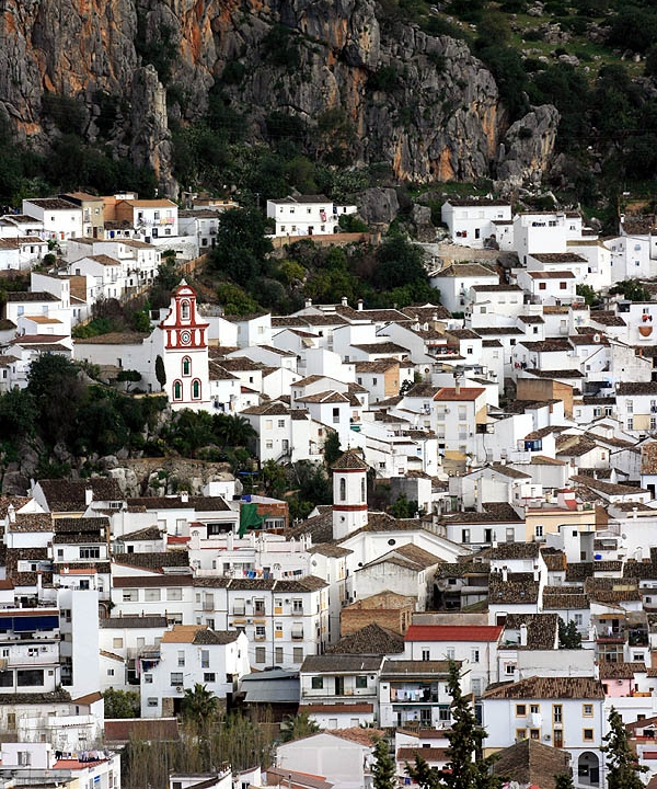 Ubrique andalusia spain