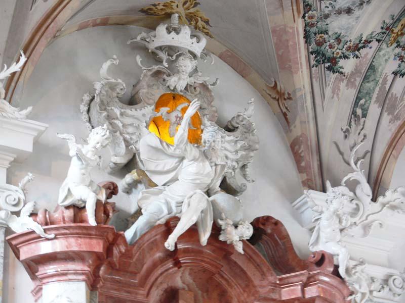 Small meersburg schlosskirche hochaltar obere zone2 germany