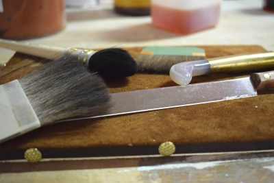 Attrezzi per doratura_Gilder's tools