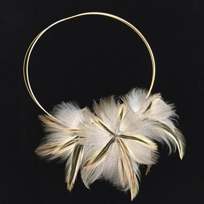 Collier plumasserie