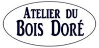 Logo atelier bois dore