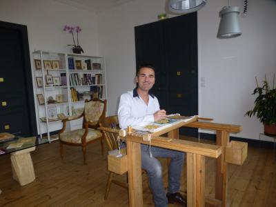 Thierry Tarrade, prêt à former des stagiaires