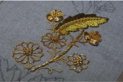 Atelier du Bégonia d'or - Frise Florale