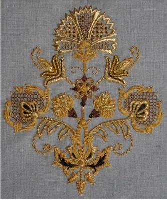Atelier du Bégonia d'or - Coussin