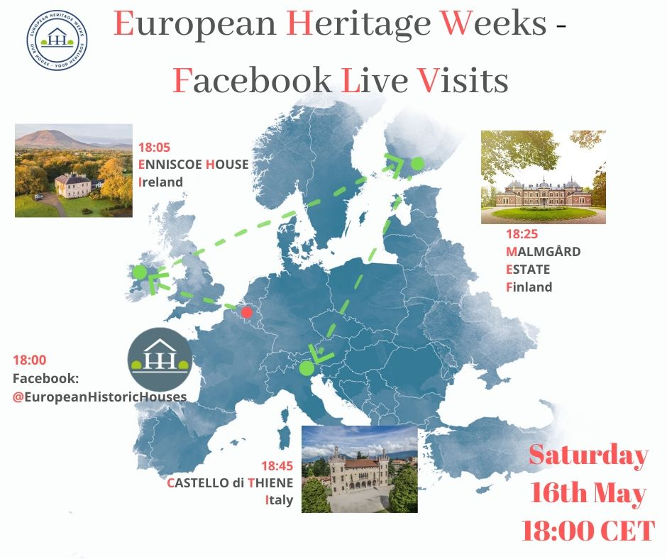 European Heritage Weeks – Facebook Live Visits