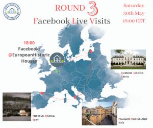 European Heritage Weeks – Facebook Live Visits