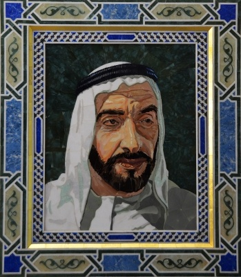 Sheikh Zayed in Pietra Dura