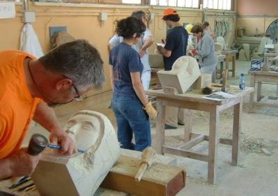 Stonemansonry Training in Centro de Oficios de León