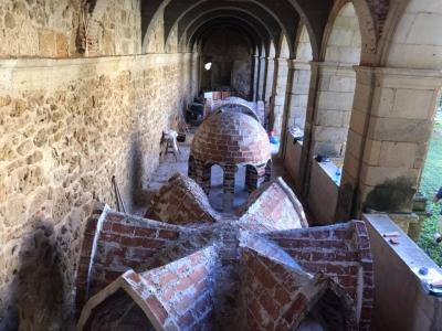 Course on Timbrel Vault Stairways in Santa María de Sandoval Monastery