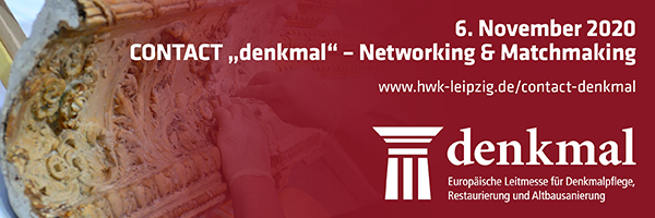 "CONTACT ""denkmal"" – Networking & Matchmaking"