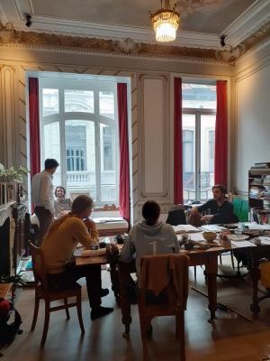 Ecole d'été d'architecture traditionnelle de Bruxelles août 2020
