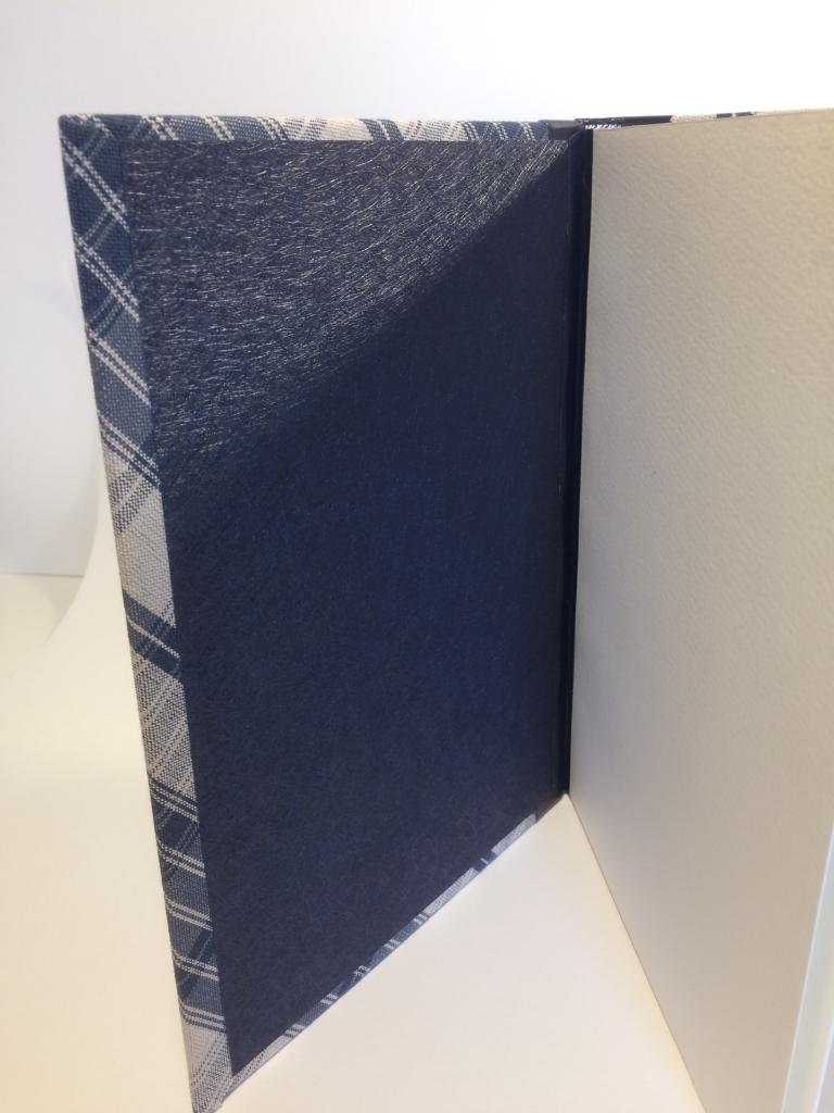 Kelsch bleu et cuir bleu intérieur