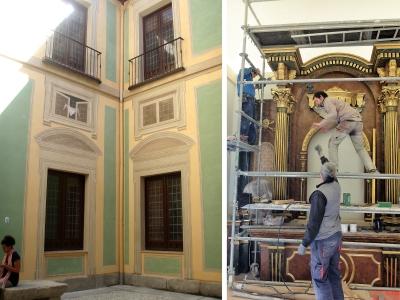 Monasterio de las Comendadoras de Santiago, Madrid
