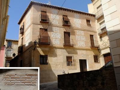 Fachada mudéjar en Toledo
