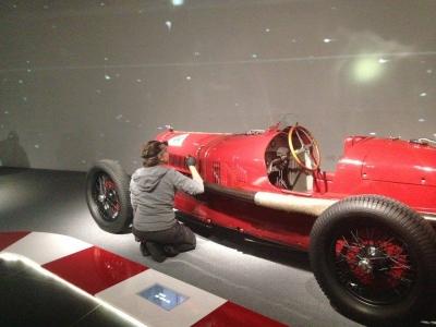 manutenzione conservativa Museo Storico Alfa Romeo