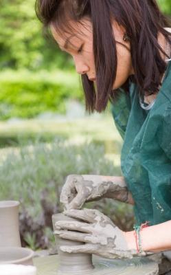 la lavorazione della terracotta