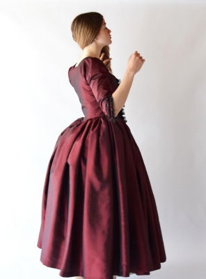 LOUISE, 1770 English Gown