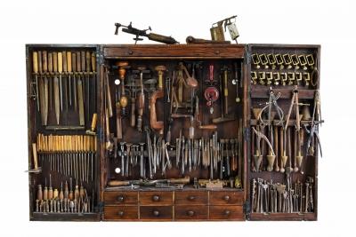 Caisse à outils XIXème s.