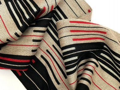 Scarf inspired by Anni Albers